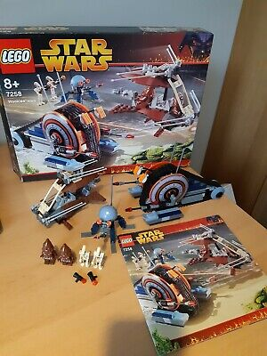 Star Wars Lego 7258 Wookie Attack COMPLETE Set Minifigures Box Instructions  • 59.99£