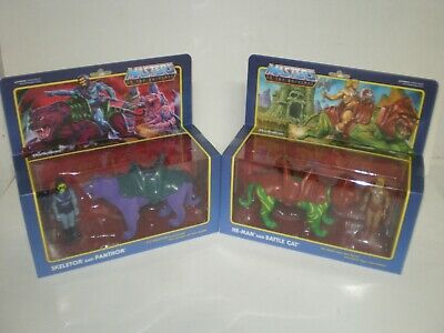 $83.75 • Buy Masters Of The Universe ReAction BATTLE CAT & PANTHOR Boxed Figure Lot Super7