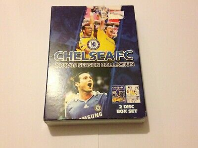 Chelsea FC 2008-2009 Season Review + FA Cup Final Collection DVD World Post! • 9.99£