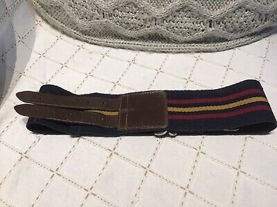 Royal Army Ordnance Corps RAOC Side Fastening Stable Belt 1950's Era • 20£