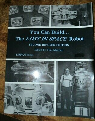 AU500 • Buy 1996 Original You Can Build The Lost In Space Robot B9 Book Lisfan Press