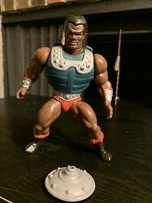 $50 • Buy Vintage Masters Of The Universe Clamp Champ 5.5  Action Figure With Armor RARE