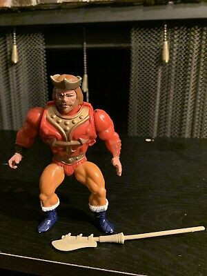 $50 • Buy Vintage Masters Of The Universe King Randor 5.5  Action Figure With Armor RARE