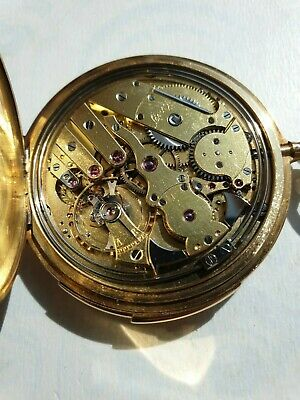 £7185.46 • Buy Antique French Gold 18K Minute Repeater L.LEROY Pocket Watch