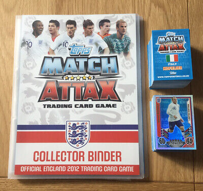 £2.99 • Buy Topps Match Attax 2012 England Trading Cards- Finish Your Collection (Full List)