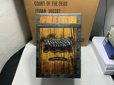 Assassins Creed Black Flag Buccaneer Edition /w Edward Kenway Statue OST No Game • 60£