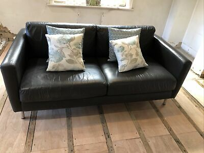 Leather Sofa - Secondhand • 10£
