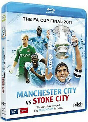 The FA Cup Final 2011 - Man City Vs Stoke Blu-ray BRAND NEW SEALED MANCHESTER • 0.99£