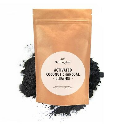 AU7.95 • Buy Teeth Whitening Charcoal  Coconut Shell Powder Activated Charcoal 50g