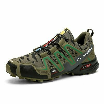 £19.99 • Buy UK Speedcross 3 Men's Hiking Shoes Outdoor Trekking Sneaker Sports Running Shoes