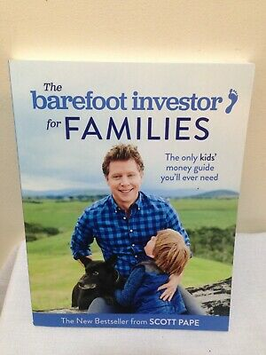 AU12.99 • Buy The Barefoot Investor For Families Paperback Step-by-Step Plan By Scott  Pape