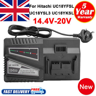 Replacement For Hitachi UC18YFSL 14.4-18v Li-Ion Battery Charger Power Tools • 20.99£