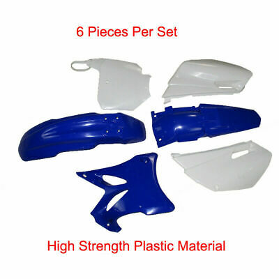 AU110.57 • Buy Plastics Side Cover Fairing Cowling Fender Kit For Yamaha YZ85 YZ-85 2002-2014
