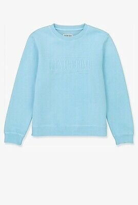 AU79 • Buy Country Road Heritage Sweat Embroidered Teen Size 16 - Nwt - Pale Blue Colour