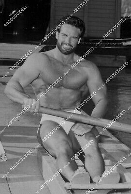 £15.74 • Buy 8b20-20910 Handsome Steve Reeves In Exercise Workout Routine 8b20-20910