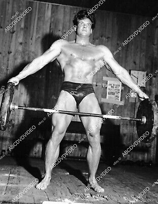 £9.30 • Buy 8b20-20912 Handsome Steve Reeves In Exercise Workout Routine 8b20-20912