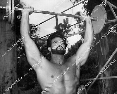 £8.58 • Buy 8b20-20916 Handsome Steve Reeves In Exercise Workout Routine 8b20-20916