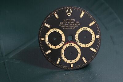 $ CDN3700.06 • Buy Rolex Daytona Black T Swiss Made T Stick Dial For 16523 - 16528 FCD11193