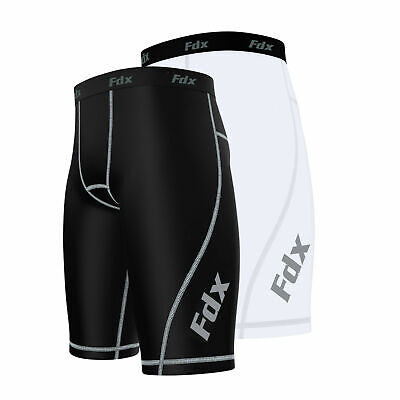 £12.99 • Buy FDX Mens Compression  Shorts Sports Briefs Skin Tight Fit Gym Pants Base Layers