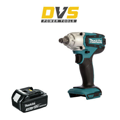 Makita DTW190Z Cordless 18V LXT 1/2  Impact Wrench And 3Ah Battery BL1830B • 114.95£