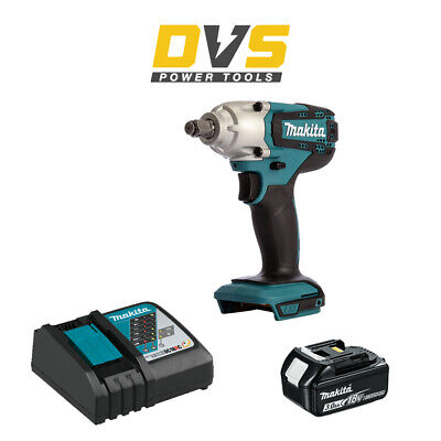 Makita DTW190Z Cordless 18V LXT 1/2  Impact Wrench With 3Ah Battery And Charger • 149.95£