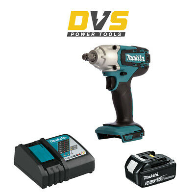 £164.04 • Buy Makita DTW190Z Cordless 18V LXT 1/2  Impact Wrench With 5Ah Battery And Charger