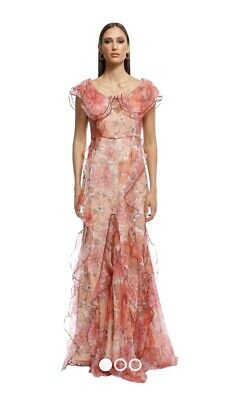 AU250 • Buy BNWT Alice McCall Flora Dress Scarlet Size 10 RRP$790
