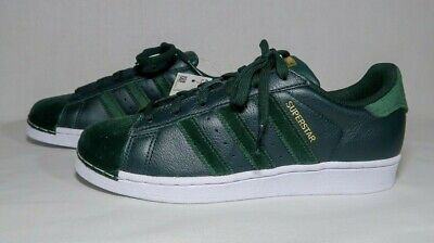 $ CDN89.14 • Buy Adidas Superstar Leather Athletic Shoes Hunter Green Womens Size 7.5M