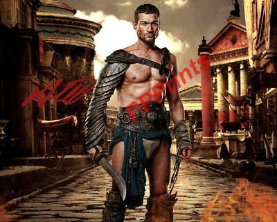 Andy Whitfield Spartacus Signed Autographed 10x8 Repro Photo Print • 5.99£