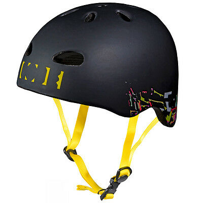 Code Team Black BMX/Skateboard/Rollerblade Protective Helmet - Medium/Large • 14.99£