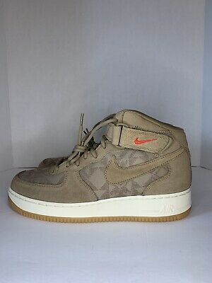 $ CDN123.85 • Buy Nike Air Force 1 Prm N7 Mid Mens Canteen Lifestyle Shoes (AT6167-200) NEW Sz 9.5