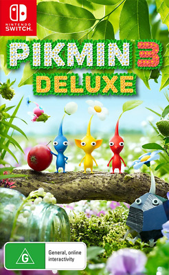 AU74.95 • Buy Pikmin 3 Deluxe Switch Game NEW