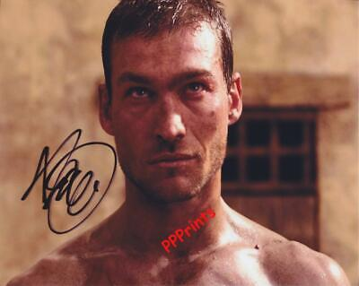 ANDY WHITFIELD Spartacus AUTOGRAPH 10 X 8  SIGNED PHOTO PRINT N1 • 5.99£