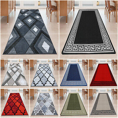 Non Slip Hall Runner Rugs Long Narrow Hallway Rug Kitchen Carpet Floor Mat • 22.99£