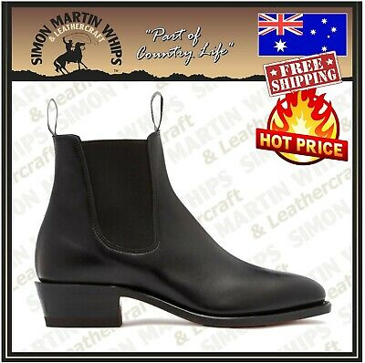 AU495 • Buy RM Williams Ladies Yearling Boots - Australian Made - FREE SHIPPING RRP $595.00