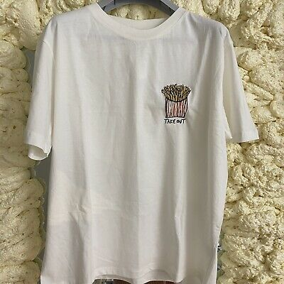AU35 • Buy BDG Urban Outfitters White 🍟 Shirt New With Tag Sz M!!