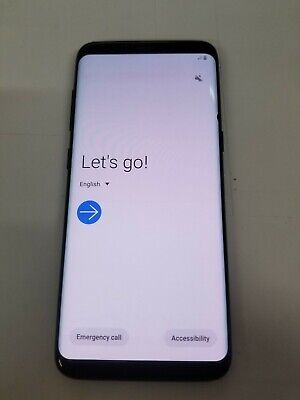 $ CDN174.29 • Buy LCD* Samsung Galaxy S8 SM-G950U - 64GB - Black (Verizon Unlocked) ~42395