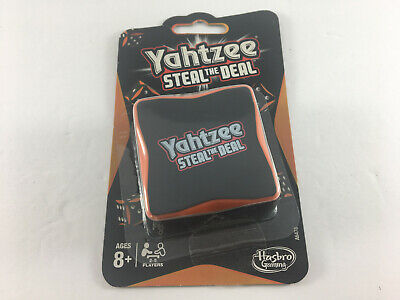 AU17.71 • Buy Yahtzee Game - STEAL THE DEAL Dice Game - Hasbro 2013 - Travel - New Open Seal