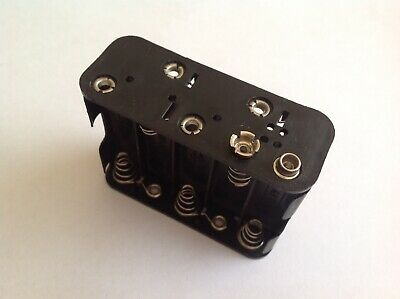 AU9.35 • Buy 10x AA Battery Holder 2 Rows Of 4 UM3 10x AA Battery Holder AU Stock Fast Post!