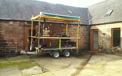 £3450 • Buy Bbq/smoking Catering Trailer. Perfect For Much In Demand Outdoor Catering !!