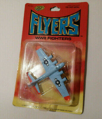 E** Roadchamps WW2 Flyers B17G Flying Fortress Diecast Model Aeroplane Plane • 10£