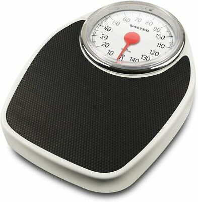 £33.75 • Buy Doctor Style Mechanical Bathroom Scales Retro White + Black Accurate Weighing