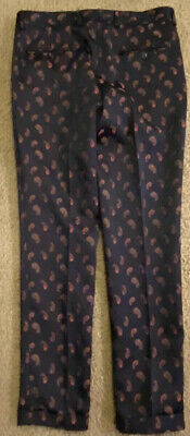 $150 • Buy The Kooples Embroidered Marey Paisley Dress Pants Trousers 44 US 31X29 NWT$295⭐️