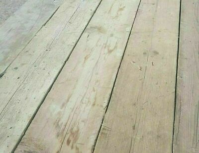 Norwegian Spruce Reclaimed Rustic Distressed Decking Boards 6FT X 8 1/2 X 1 3/8  • 19.50£
