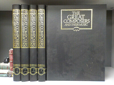 The Great Composers And Their Music 65 Magazines 5 Binders ID7817 • 34.99£