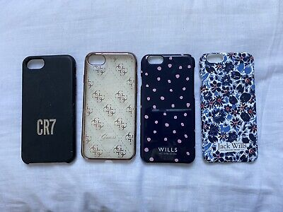 4 X Iphone 6S Phone Covers Phone Case Guess Jack Wills Cr7 Cristiano Ronaldo Lot • 9.38£