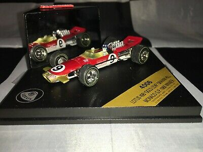 1:43 Quartzo #Q4006 Graham Hill Lotus 49B 'Gold Leaf' World Champ Monaco GP 1968 • 19.99£