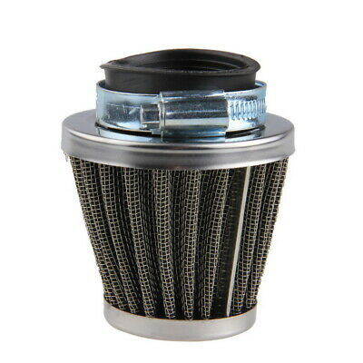 £10.99 • Buy 2pcs 39mm Air Filter Engine Inlet Cleaner Cone Motorcycle Motocross Scooter