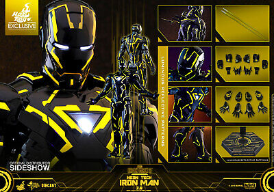 $ CDN370.68 • Buy Neon Tech Iron Man 2.0 Sixth Scale Figure Sixth Scale Figure By Hot Toys DIECAST