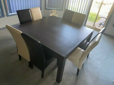 AU500 • Buy Dining Table + 8 Dining Chairs